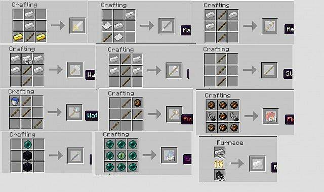 3d weapons мод minecraft 1 4 7