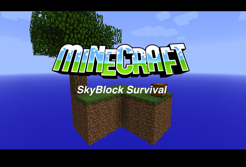 SkyBlock Map [1.7.1/1.6.4/1.6.2/1.5.2]