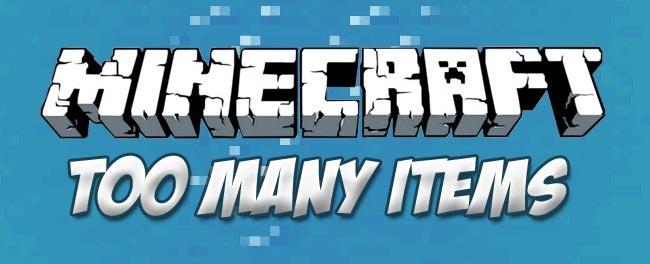 Чит TooManyItems для Minecraft 1.7.2