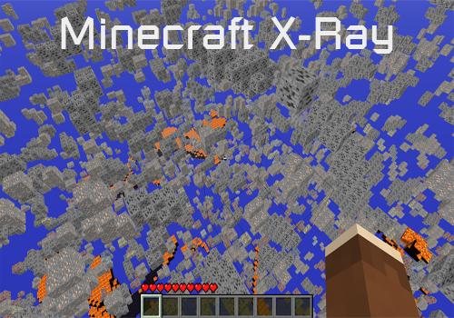 Чит XRay для Minecraft [1.7.4]
