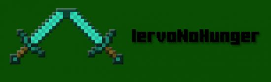 Плагин IervoNoHunger для Minecraft 1.7.4